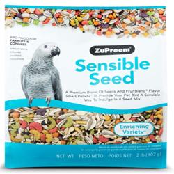 ZuPreem Sensible Seed Bird Food for Parrots & Conures 2lb