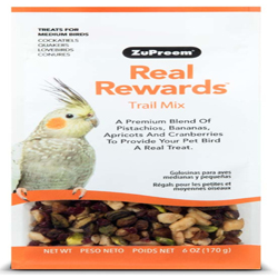 ZuPreem Real Rewards Trail Mix Medium Bird Treats 6oz