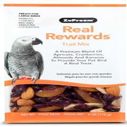 ZuPreem Real Rewards Trail Mix Large Bird Treats 6oz