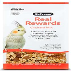 ZuPreem Real Rewards Orchard Mix Medium Bird Treats 6oz