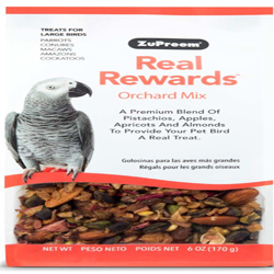 ZuPreem Real Rewards Orchard Mix Large Bird Treats 6oz