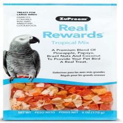 ZuPreem Real Rewards Tropical Mix Large Bird Treats 6oz