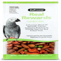 ZuPreem Real Rewards Garden Mix Large Bird Treats 6oz