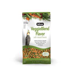 ZuPreem VeggieBlend Flavor Medium Birds Bird Food 2lb