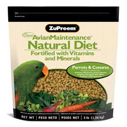 ZuPreem Natural Parrots & Conures 3lb