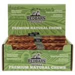 Redbarn Beef Esophagus Braided Stick Dog Treats Large 25ct